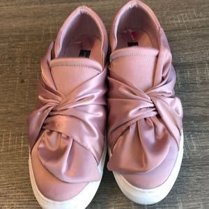 Satin Bow Shoes